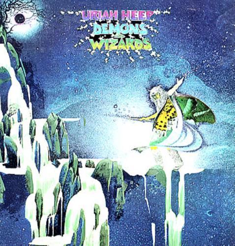 Uriah Heep Demons And Wizards vinyl LP album (LP record) UK URILPDE291093
