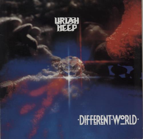 Uriah Heep Different World vinyl LP album (LP record) UK URILPDI496130