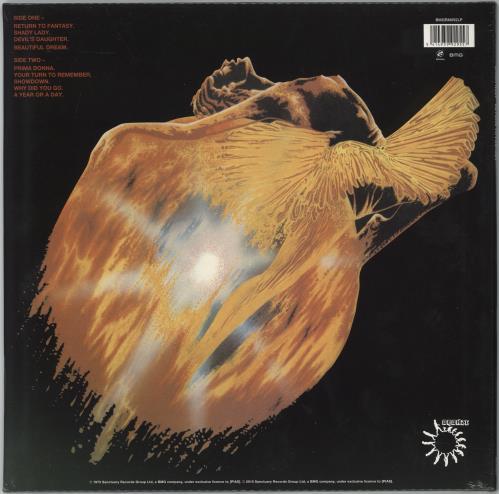 Uriah Heep Return To Fantasy - 180g vinyl LP album (LP record) UK URILPRE775004