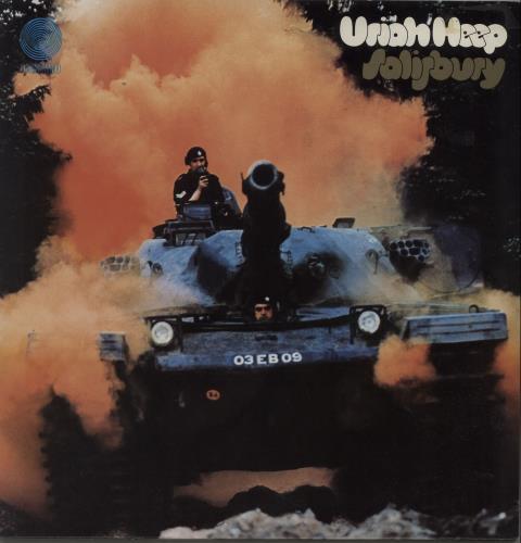 Uriah Heep Salisbury - 1st - EX vinyl LP album (LP record) UK URILPSA421668