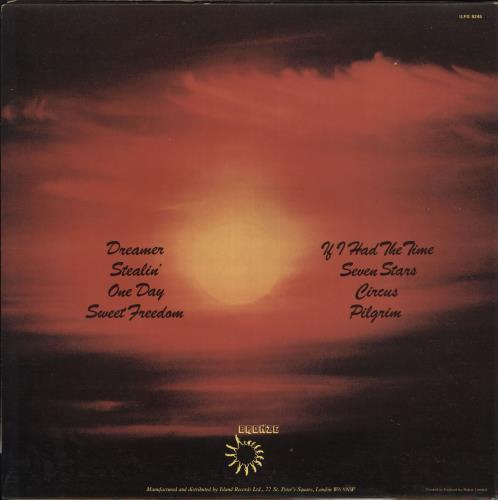 Uriah Heep Sweet Freedom - 1st - EX vinyl LP album (LP record) UK URILPSW584520