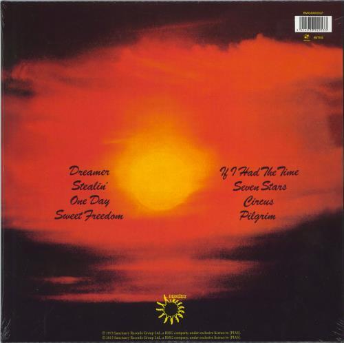 Uriah Heep Sweet Freedom vinyl LP album (LP record) UK URILPSW774543