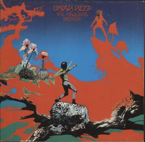Uriah Heep The Magician's Birthday + Inner - 2nd - EX vinyl LP album (LP record) UK URILPTH559854