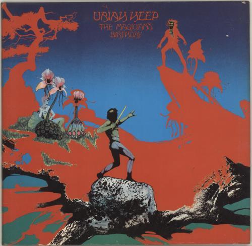 Uriah Heep The Magician's Birthday - 2nd - EX vinyl LP album (LP record) UK URILPTH680846