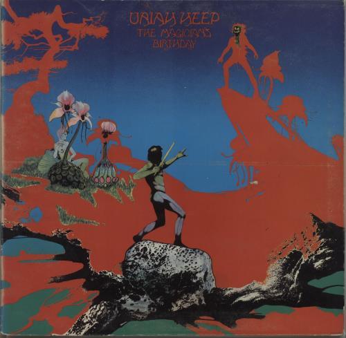 Uriah Heep The Magician's Birthday - 2nd - VG vinyl LP album (LP record) UK URILPTH576035