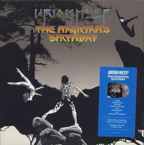 Uriah Heep The Magician's Birthday - RSD 2021 - Galaxy Swirl Vinyl - Sealed vinyl LP album (LP record) UK URILPTH770212