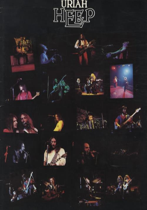 Uriah Heep UK Tour 1977 tour programme UK URITRUK345755