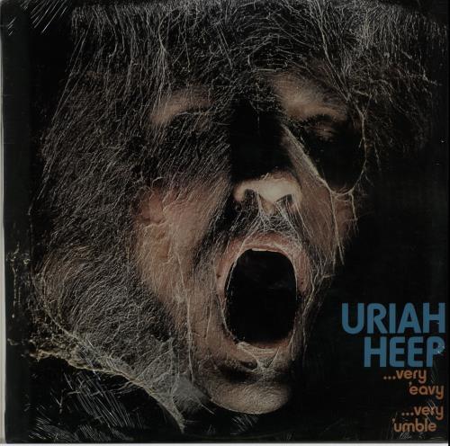 Uriah Heep Very 'eavy Very 'umble vinyl LP album (LP record) South African URILPVE653997