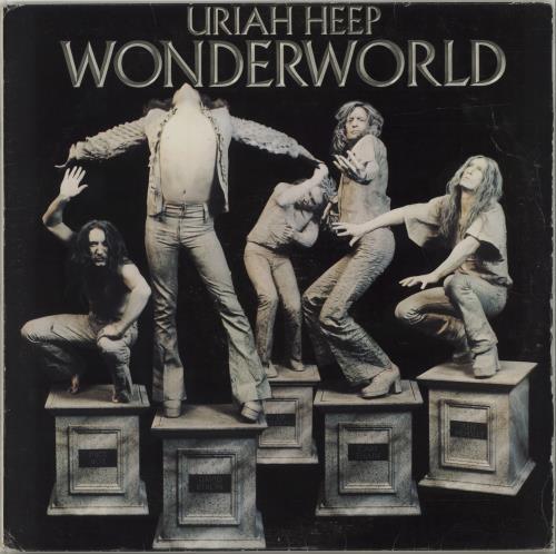 Uriah Heep Wonderworld vinyl LP album (LP record) South African URILPWO679460