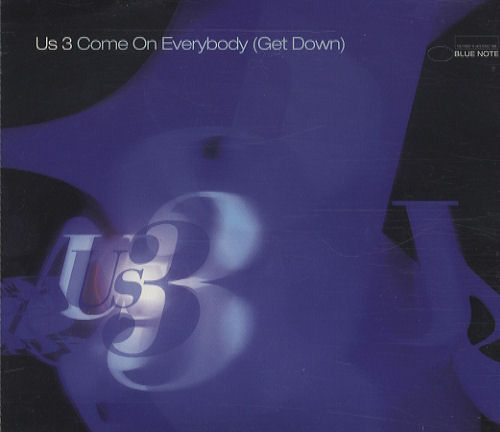 """US3 Come On Everybody (Get Down) CD single (CD5 / 5"""") UK US3C5CO274238"""