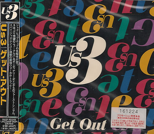 """US3 Get Out CD single (CD5 / 5"""") Japanese US3C5GE487755"""