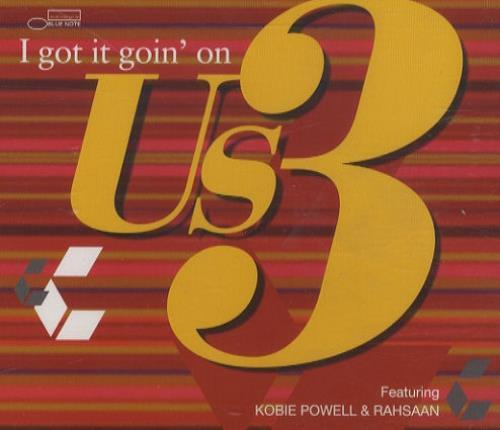 "US3 I Got It Goin' On CD single (CD5 / 5"") UK US3C5IG151500"