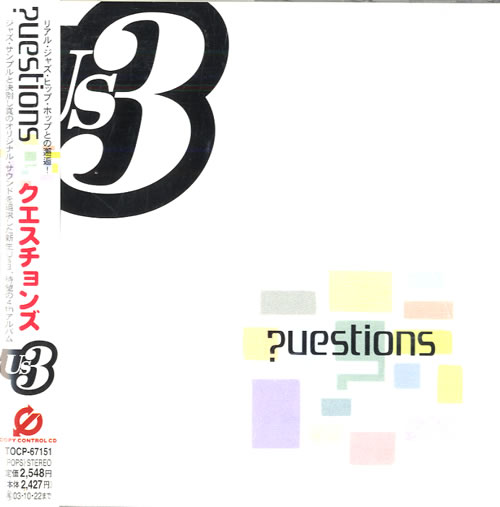 US3 Questions CD album (CDLP) Japanese US3CDQU557963