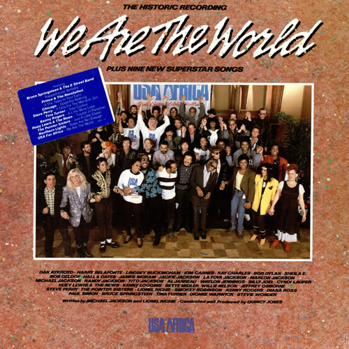 USA For Africa We Are The World - Sealed vinyl LP album (LP record) US UAFLPWE459550
