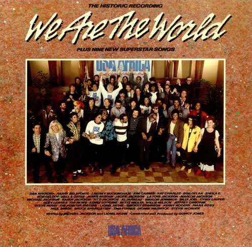 USA For Africa We Are The World vinyl LP album (LP record) US UAFLPWE101229