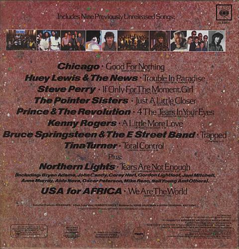 USA For Africa We Are The World vinyl LP album (LP record) Mexican UAFLPWE102157