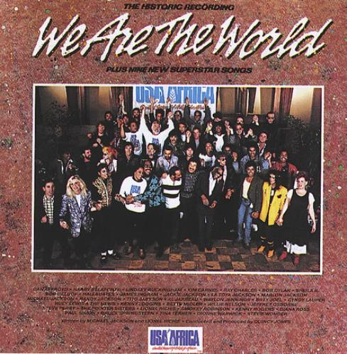 USA For Africa We Are The World CD album (CDLP) US UAFCDWE368787
