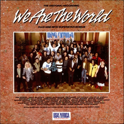 USA For Africa We Are The World vinyl LP album (LP record) Japanese UAFLPWE525982