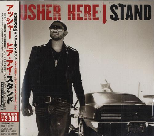 Usher Here I Stand CD album (CDLP) Japanese UHECDHE482680