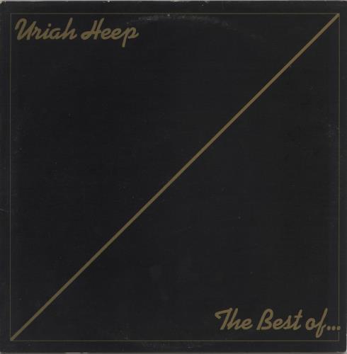 Uriah Heep The Best Of... vinyl LP album (LP record) UK URILPTH439119