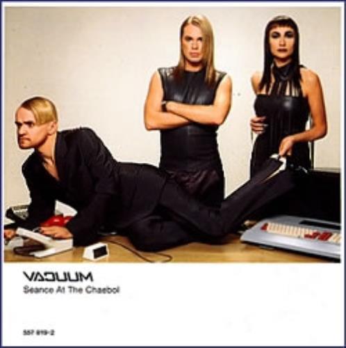 Vacuum Seance At The Chaebol CD album (CDLP) Swedish VUUCDSE158887