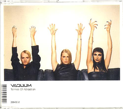 "Vacuum Tonnes Of Atraction CD single (CD5 / 5"") Swedish VUUC5TO108204"
