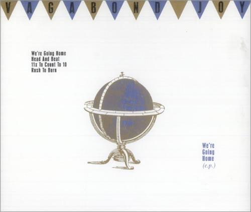 "Vagabond We're Going Home CD single (CD5 / 5"") UK VG2C5WE515734"