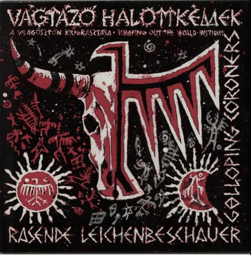Vagtazo Halottkemek A Világösztön Kiugrasztása [Jumping Out The World-Instinct] vinyl LP album (LP record) UK VGGLPAV604839