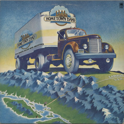 Valdy Valdy And The Hometown Band vinyl LP album (LP record) Canadian VC7LPVA611622