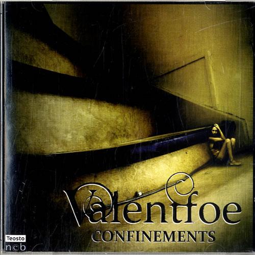 Valentfoe Confinements CD-R acetate UK W1RCRCO615167