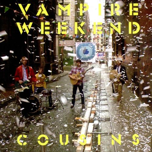 """Vampire Weekend Cousins CD single (CD5 / 5"""") US VWEC5CO508774"""