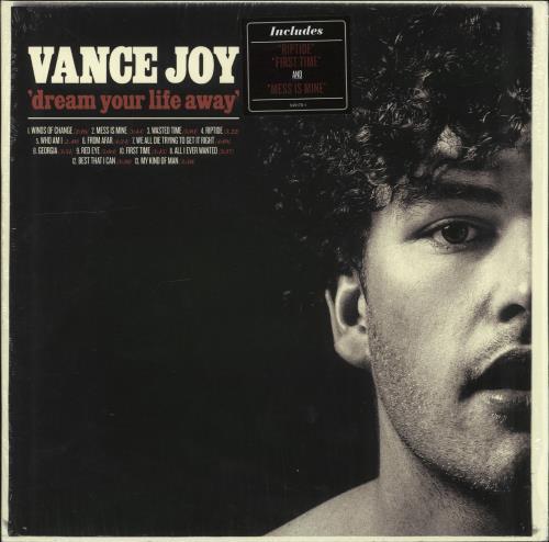 Vance Joy Dream Your Life Away vinyl LP album (LP record) UK XA7LPDR704175