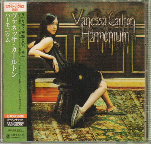 Vanessa Carlton Harmonium CD album (CDLP) Japanese VNCCDHA642870