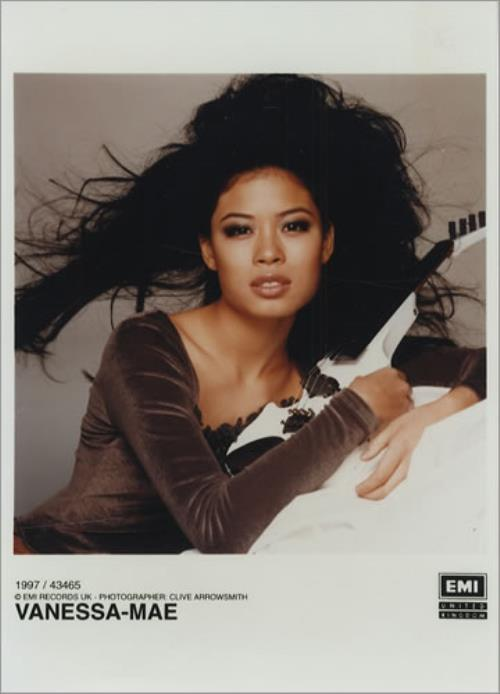 Vanessa Mae China Girl: The Classical Album 2 photograph UK VMAPHCH413231