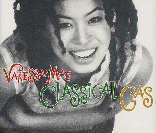 "Vanessa Mae Classical Gas CD single (CD5 / 5"") UK VMAC5CL108010"