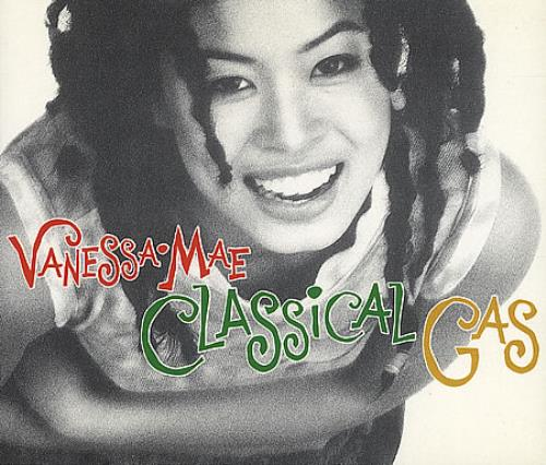 "Vanessa Mae Classical Gas CD single (CD5 / 5"") UK VMAC5CL158759"