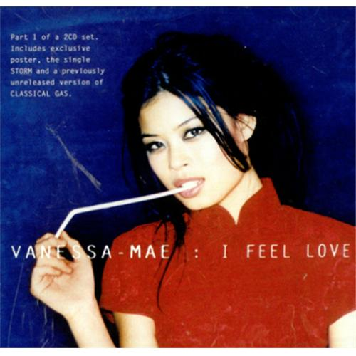 Vanessa Mae I Feel Love 2-CD single set (Double CD single) UK VMA2SIF422178