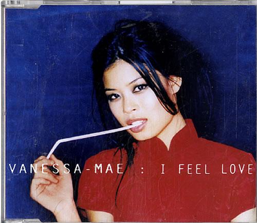 "Vanessa Mae I Feel Love CD single (CD5 / 5"") Dutch VMAC5IF629669"