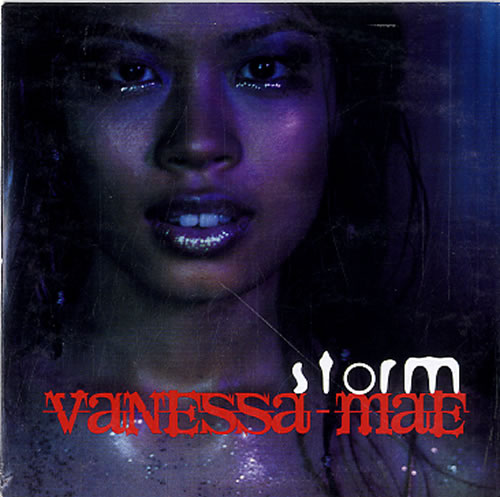 "Vanessa Mae Storm CD single (CD5 / 5"") Dutch VMAC5ST629672"
