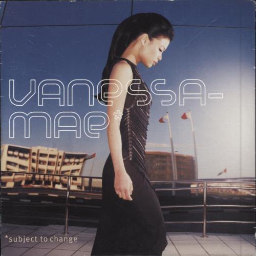 Vanessa Mae Subject To Change CD album (CDLP) UK VMACDSU188109