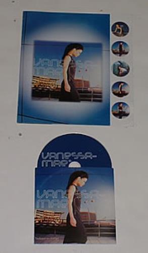 Vanessa Mae Subject To Change media press kit Mexican VMAKISU253585