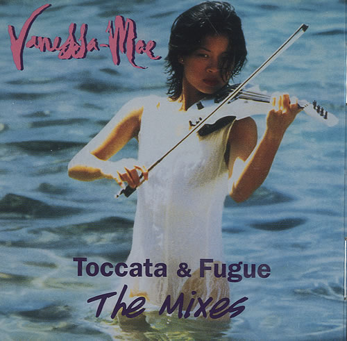 "Vanessa Mae Toccata & Fugue - The Mixes CD single (CD5 / 5"") US VMAC5TO435935"