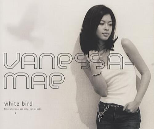 "Vanessa Mae White Bird CD single (CD5 / 5"") UK VMAC5WH188112"
