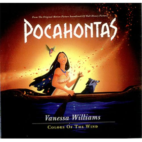 "Vanessa Williams Colors Of The Wind CD single (CD5 / 5"") US VNWC5CO426682"