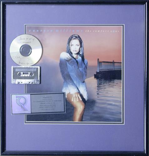 Vanessa Williams The Comfort Zone award disc US VNWAWTH514200