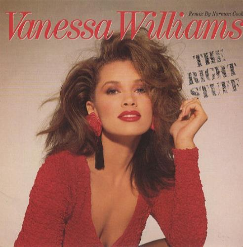 "Vanessa Williams The Right Stuff 7"" vinyl single (7 inch record) UK VNW07TH195591"