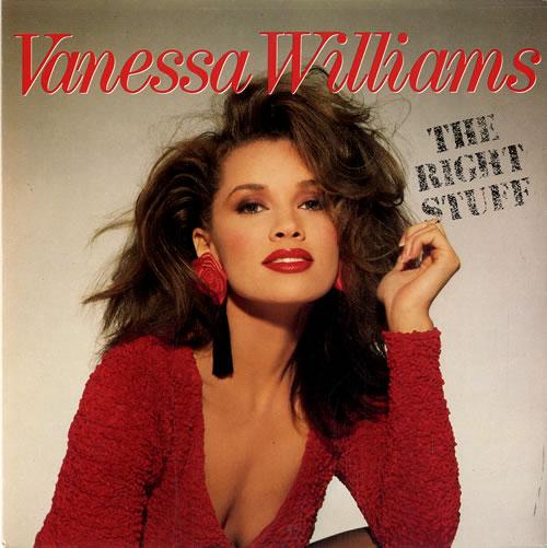 "Vanessa Williams The Right Stuff 7"" vinyl single (7 inch record) UK VNW07TH631006"