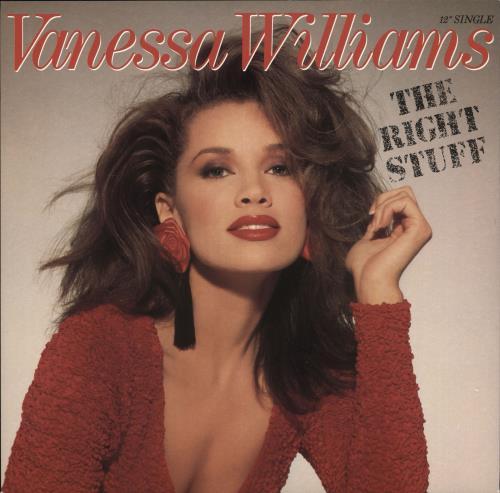 """Vanessa Williams The Right Stuff 12"""" vinyl single (12 inch record / Maxi-single) UK VNW12TH725739"""