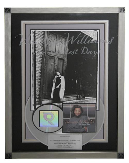 Vanessa Williams The Sweetest Days award disc US VNWAWTH478196