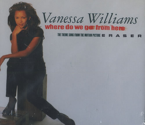 """Vanessa Williams Where Do We Got From Here CD single (CD5 / 5"""") US VNWC5WH466139"""